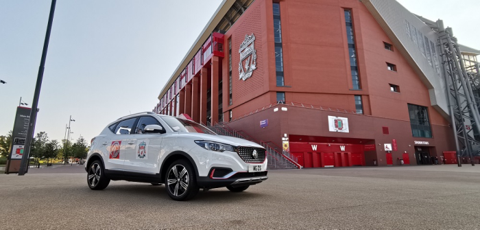 Iconic MG & Liverpool Football Club Come Together for a New Global Partnership