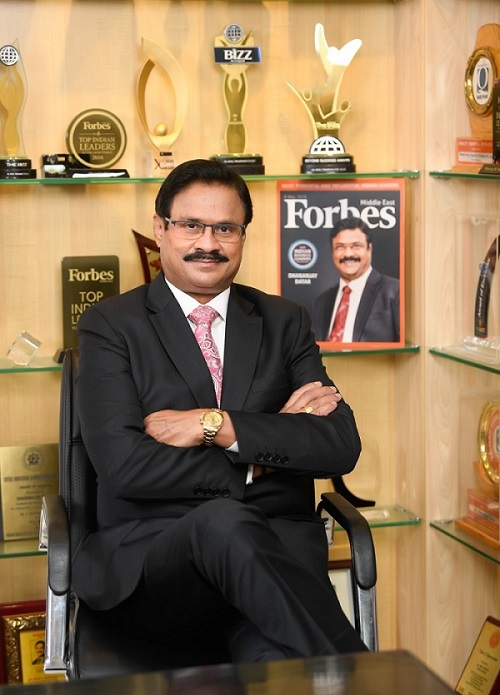 Forbes Middle East Honours Masala King Dr. Dhananjay Datar with the 25th Ranking Among the Top 100 Indian Business Leaders in Middle East 2021