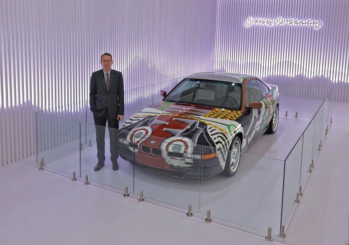 The JOY of Art and Automobile: BMW Group Brings the 14th BMW Art Car to India