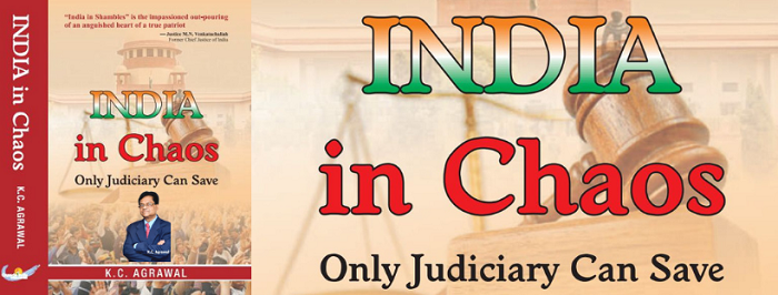 "Author K. C. Agrawal's New Book ""India in Chaos, Only Judiciary Can Save by Electoral Reforms & Playing a Third Eye"" Proposes Vital Electoral Reforms"