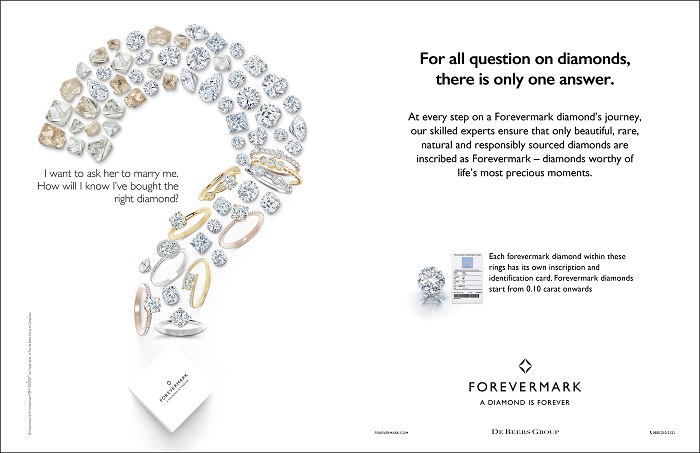 For All Questions on Diamonds, There Is Only One Answer - FOREVERMARK - newsonfloor.com