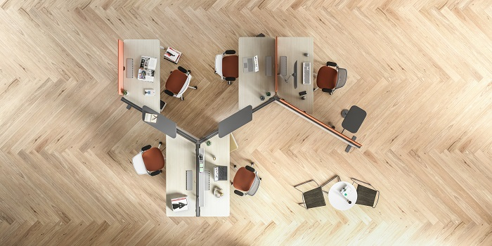 Steelcase Introduces Diversal: Free-Flow Flexibility for the Modern Workplace