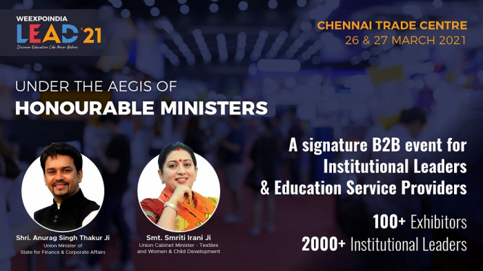 Everything That the School and College Needs to Reopen - 2000+ Educational Leaders Meet at Chennai Trade Centre for Lead '21