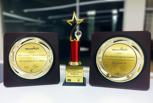 FSS Paynalytix and FSS Secure3D Win Big at Technoviti Awards 2019