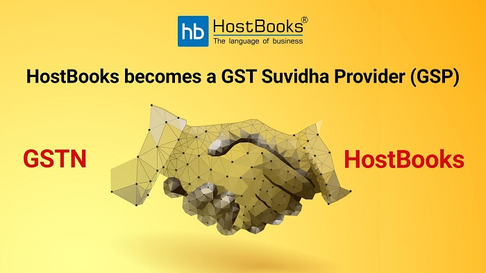 HostBooks Selected as GST Suvidha Provider (GSP) by GSTN - newsonfloor.com