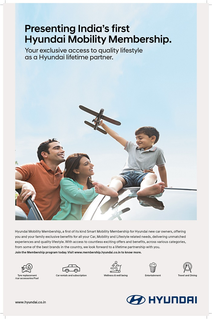 Hyundai Mobility Membership India's First Smart Ownership and Lifestyle Experience