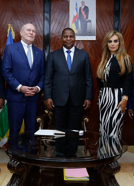 Merck Foundation Discussed With the President of Central African Republic Their Commitment to Develop Healthcare Capacity in the Country - newsonfloor.com
