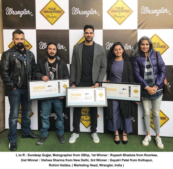 Wrangler Announces the Winners of True Wanderer 7.0