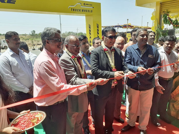 JK Tyre Opens 'JK Truck Wheels Centre' in Mulbagal; Aims to Further Strengthen Its Presence in Karnataka