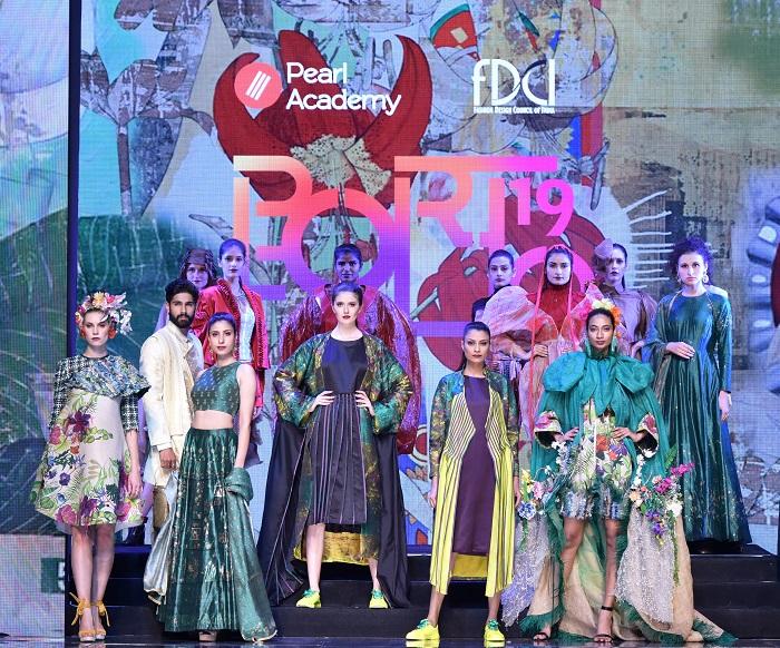 Pearl Portfolio Showcases the Future of Fashion at Lotus India Fashion Week 2019