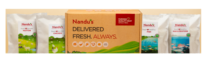 Nandu's Becomes Indias First Meat-Based Start-up to Launch Innovative and Eco-Friendly Packaging