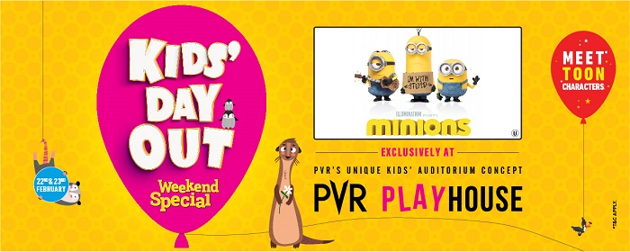 Kid's Day Out - Weekend Special: Now, Entertaining Kids is Child's Play at PVR Cinemas