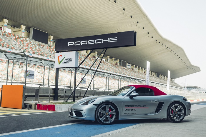 Porsche World Road Show Takes Place at India's Buddh International Circuit