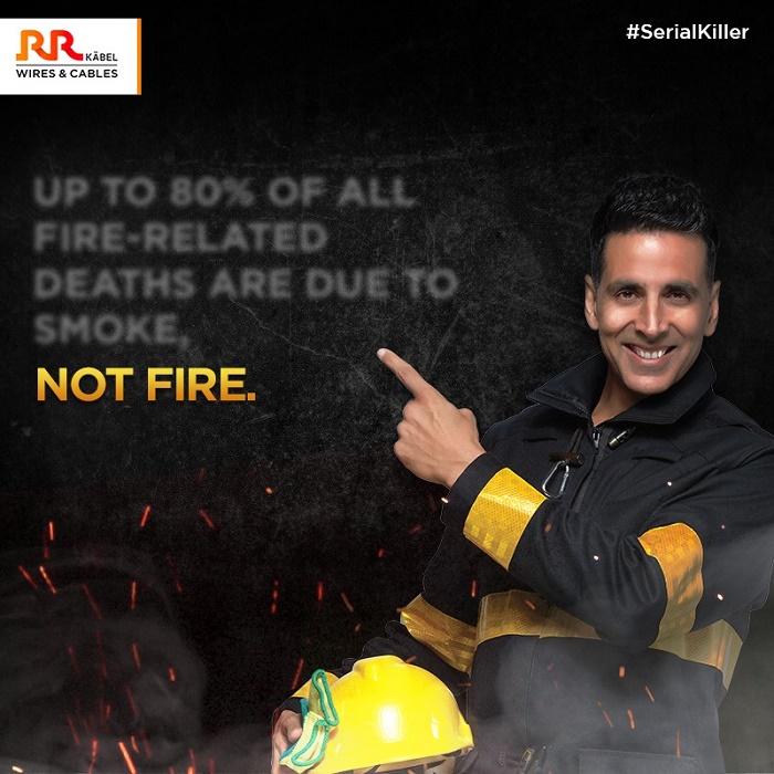 Akshay Kumar Is Back for RR Kabel's Newest Campaign #serialkiller