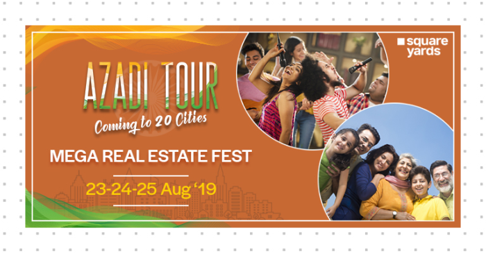 The Sequel to Square Yards' Mega Real Estate Fest, 'Azadi Tour' Is Back, and It's Bigger and Better - newsonfloor.com