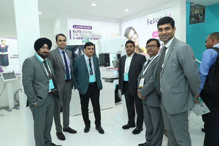 Trivitron Healthcare Launches Its State-of-the-Art Elite - Flat Panel Digital C-Arm and Felicia - Digital Mammography System at Arab Health 2019, Dubai