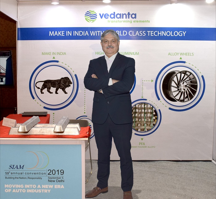 Vedanta Formally Launches Primary Foundry Alloy (PFA) at 59th SIAM Annual Convention 2019 - newsonfloor.com