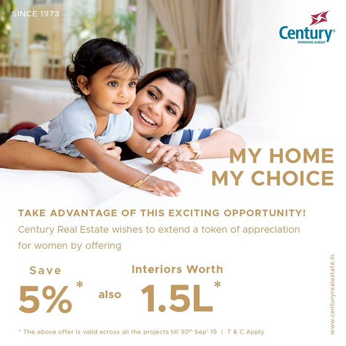 Century Real Estate Introduces My Home My Choice Offer - Exclusively for Women Home Buyers! - newsonfloor.com