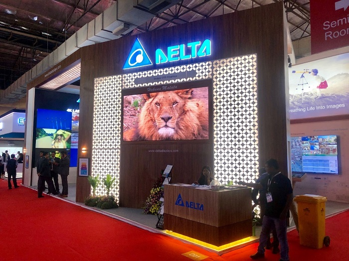 Delta to Demonstrate Its State-of-the-Art Display Solutions at InfoComm India 2019