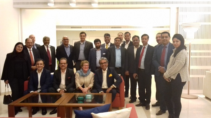 Members of Finland Chamber of Commerce in India Convene Their First Meeting in Delhi