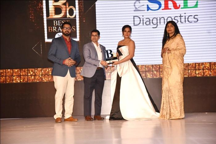 SRL Diagnostics Honoured at the Prestigious 'The Economic Times Best Brands Awards - 2019'