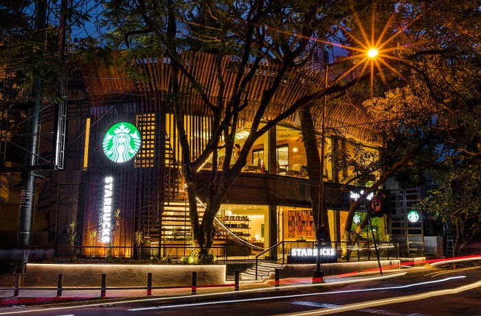 Starbucks Opens India's Largest Coffee Forward Store in Bangalore