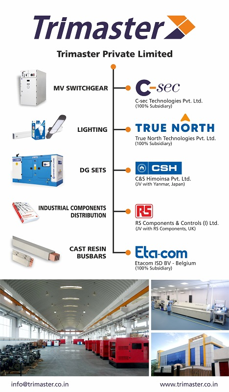 Former Founders and Promoters of C&S Electric India to Grow and Transform Their Retained Businesses Under Trimaster Group Banner
