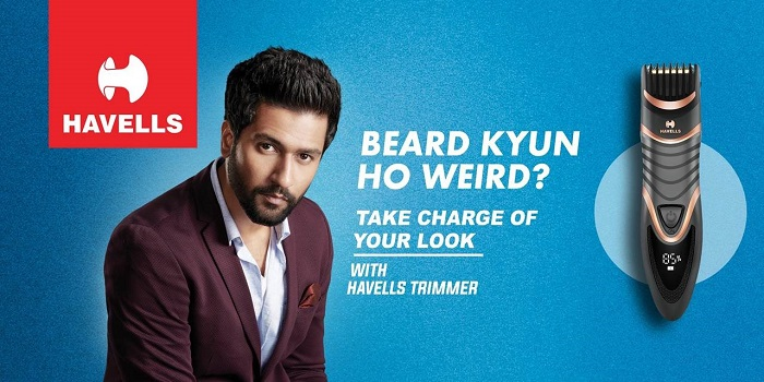Havells Announces Vicky Kaushal as the Brand Ambassador for Its Men's Personal Grooming Range