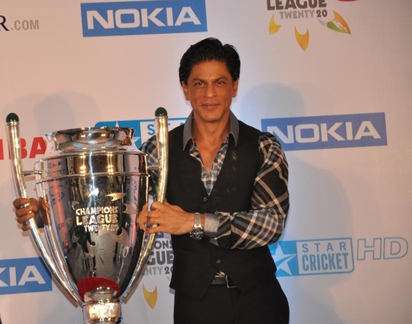 Shahrukh Khan at the ESPN Star Sports Nokia Champions League Twenty20 event