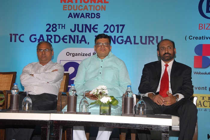 Shri Gopal Krishna Agarwal (Honorable National Spokesperson BJP On Economic Affairs), Shri Dheeshjith V. G.(Infosys Limited) & Shri Rajendra Kumar Jain (Government of India, Ministry of Water Resources RD & GR, Central Water Commission)