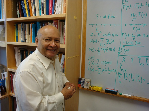 Prof. Thomas Kailath at Stanford University