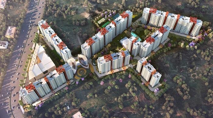 Park Cubix Aerial View