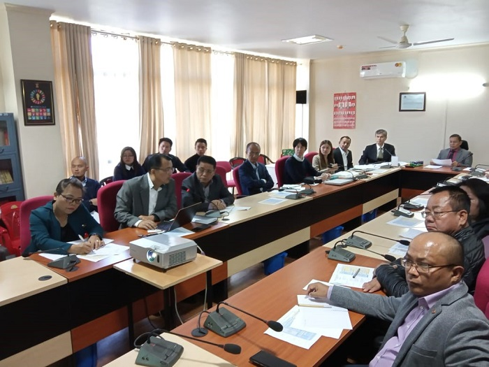The JCC Meeting with the officials from JICA India Office and Government of Mizoram