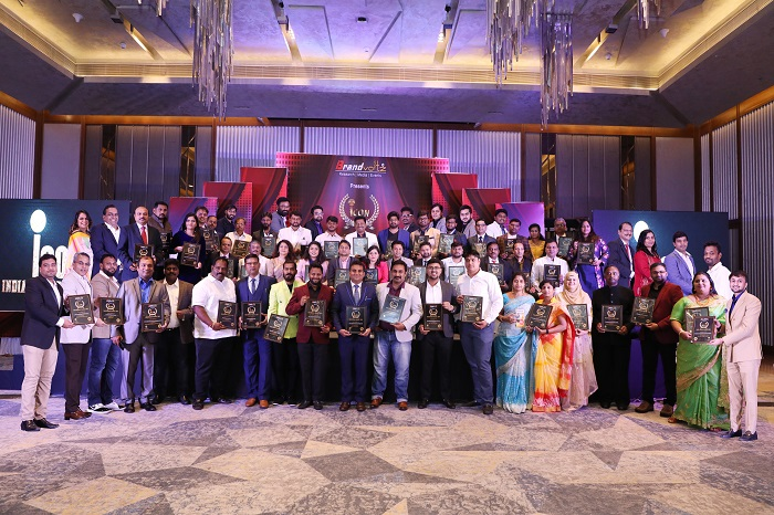 The winners of Icon India Business Awards 2019