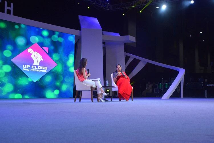 Natasha Mudhar and Rt Hon Chief Minister Vasundhara Raje