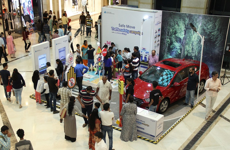 Safe Move - Road Safety Campaign in Malls