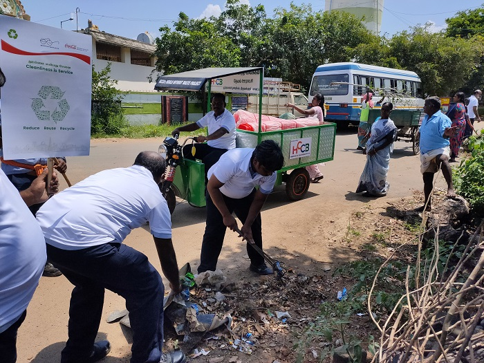 Hindustan Coca-Cola Beverages commemorates 150th Birth Anniversary of Mahatma Gandhi with a country-wide cleanliness drive