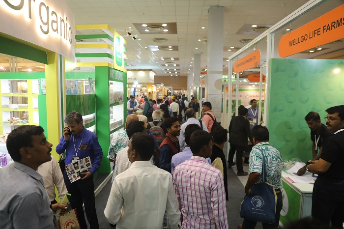 India's Biggest Organic Trade Fair witnesses an overwhelming response! Attendance by 10000 + visitors over three days