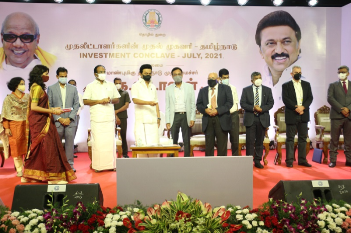 Hon?ble Chief Minister of Tamil Nadu, Shri M. K. Stalin unveils AG&P Pratham?s INR 1,700 crores investment commitment for establishing City Gas Distribution infrastructure in Chennai, Kancheepuram and Chengalpattu Districts