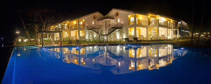 Acron Waterfront Resort Night