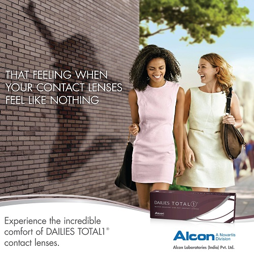 Alcon Introduces DAILIES TOTAL1 Water Gradient contact Lenses - A New Era in comfort