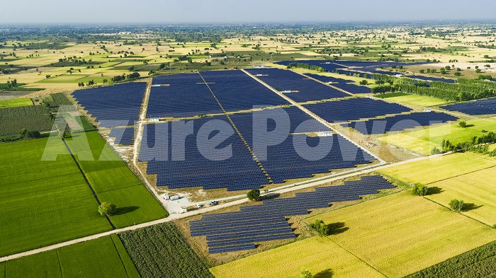 Azure Power Solar Plant