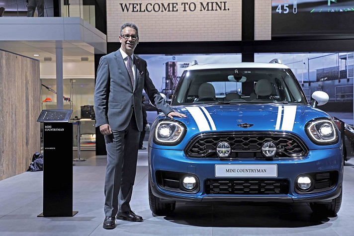 Mr. Vikram Pawah with the all-new MINI Countryman
