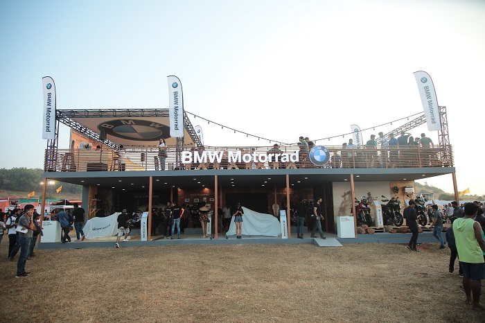 BMW Motorrad at India Bike Week