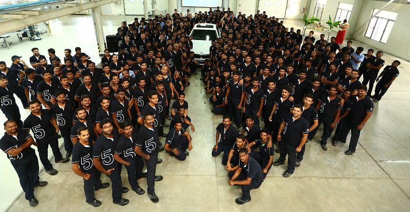 BMW Plant Chennai associates with the all-new BMW 5 Series