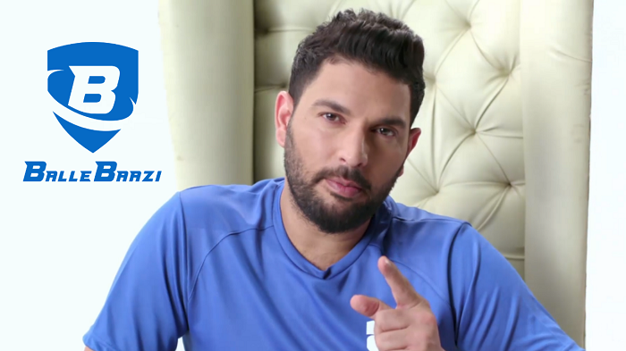 Yuvi Paa tells you how to be 'The New Age Baazigar' in his own unique style! Join BalleBaazi now, one of India's fastest-growing fantasy sports website & app.