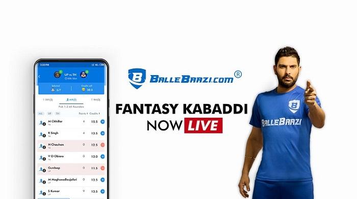 BalleBaazi.com brings you Fantasy Kabaddi in an all-exciting avatar