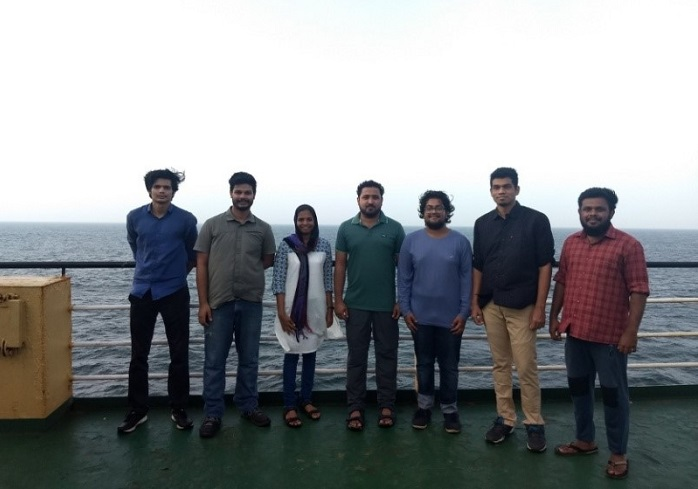MIT (MAHE) students on a scientific mission across Bay of Bengal