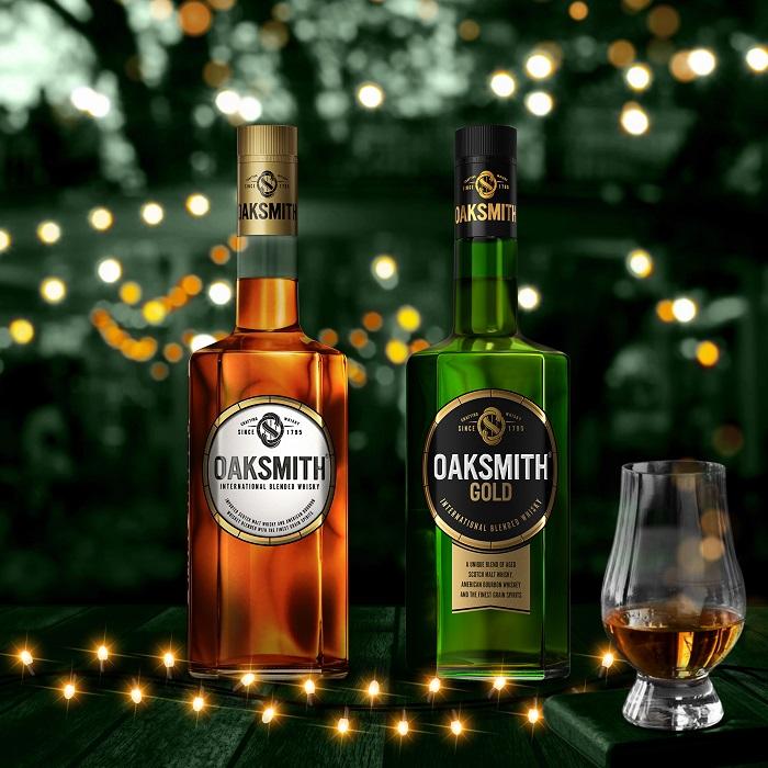 Beam Suntory's International Blended Whiskies Oaksmith® International and Oaksmith® Gold