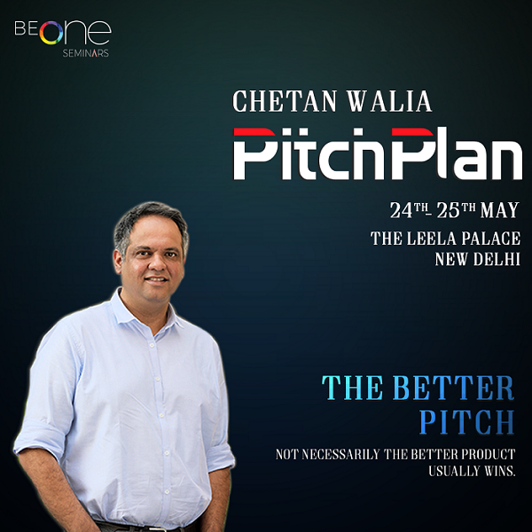 BeOne Seminar presents Pitch Plan